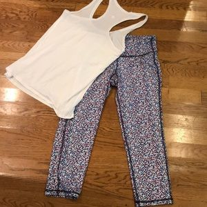 Super fun workout leggings- worn once